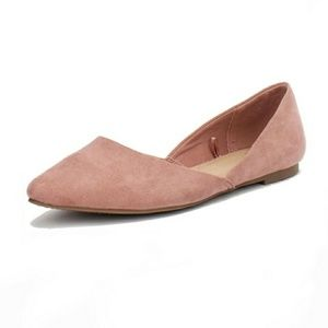 Time and Tru Blush Point Ballet Flat